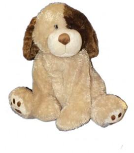 Grande peluche Chien beige marron Toys'R Us 50 cm