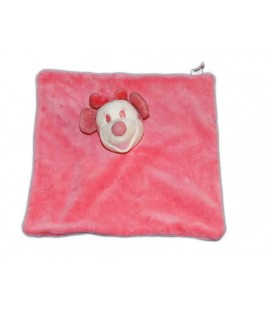 Doudou plat Minnie rose Carrefour Disney Grelot