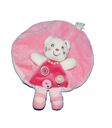 doudou-plat-rond-chat-rose-blanc-nicotoy-5799915