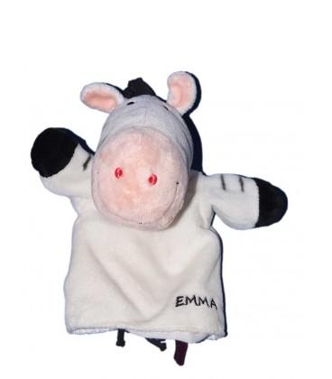 Doudou Marionnette Zèbre blanc Emma Die Spiegelburg