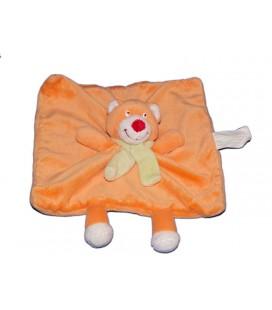 doudou-plat-chat-ours-orange-kimbaloo-la-halle-echarpe-verte