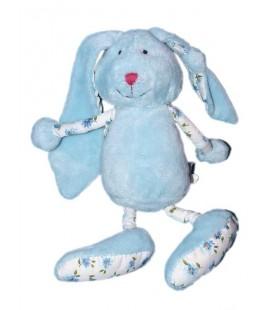 doudou-peluche-lapin-bleu-blanc-fleurs-aubertconcept-doudou-et-compagnie