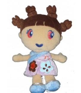 doudou-fille-robe-mauve-kimbaloo-la-halle-22-cm