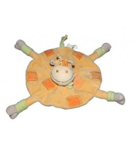 doudou-plat-rond-vache-orange-kimbaloo-la-halle
