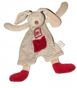 doudou-plat-lapin-linvosges-moulin-roty-blanc-rouge-beige-raye-rayures-poche