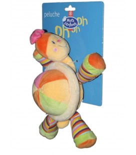 doudou-peluche-tortue-jaune-orange-mots-d-enfants-25-cm-5797540