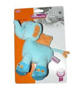 doudou-peluche-elephant-bleu-orange-pommette-intermarche-20-cm-knuffel-boneco