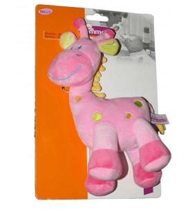 doudou-peluche-girafe-rose-pommette-intermarche-knuffel-boneco-26-cm