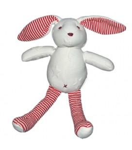 doudou-lapin-blanc-sergent-major-rayures-rouges-croix-tissu-etoiles