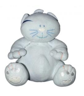 Doudou Chat bleu Marèse 20 cm