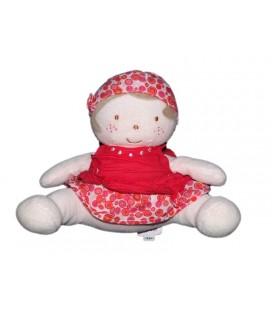 doudou-poupee-rose-robe-bandana-marese-20-cm
