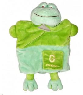 Doudou Marionnette GRENOUILLE Verte - G comme... BaBY NaT Babynat