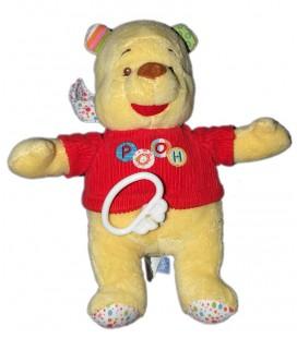 Peluche Musicale Doudou Winnie Pooh Abeille Disney Baby Nicotoy 587/9473 26 cm