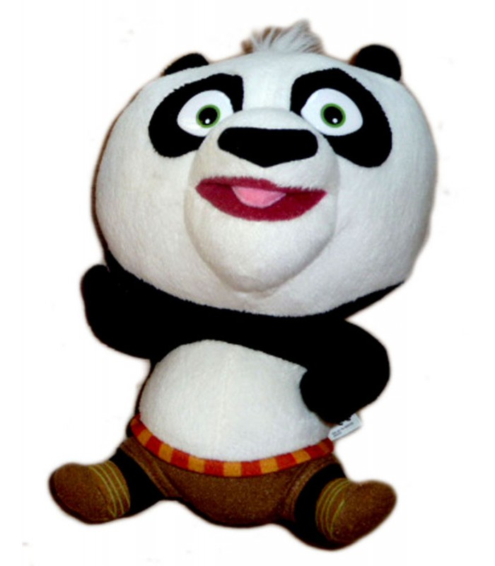 peluche panda kung fu panda big headz dreamworks 22 cm. Black Bedroom Furniture Sets. Home Design Ideas