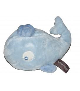 Doudou baleine bleue Orchestra