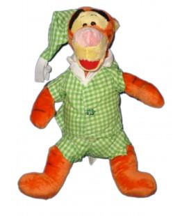 doudou-peluche-tigrou-pyjama-vert-disney-nicotoy-32-cm