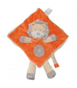 NICOTOY Kiabi Doudou plat Lion orange 579/1270