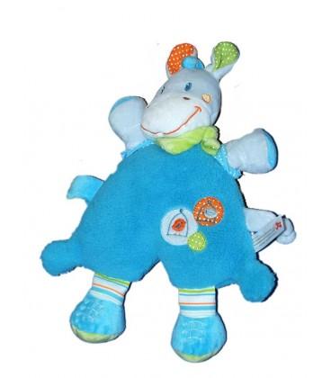 nicotoy-doudou-semi-plat-cheval-poney-girafe-bleu-oiseau-cage