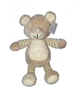 Doudou peluche ours beige MAXITA 28 cm