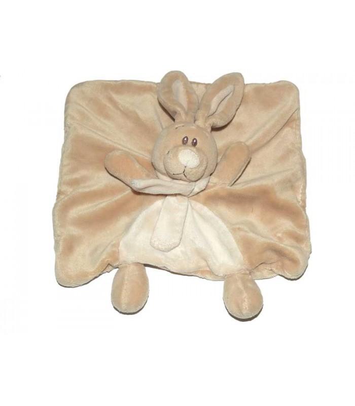 kimbaloo doudou plat lapin beige echarpe. Black Bedroom Furniture Sets. Home Design Ideas