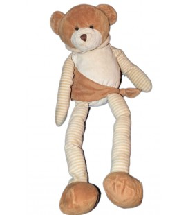 doudou-peluche-ours-marron-beige-blanc-rayures-cmi-playkids-48-cm