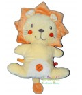 nicotoy-doudou-peluche-lion-jaune-orange-croix-nicotoy-30-cm