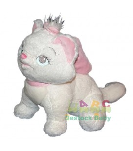 Peluche Chat Marie LES ARISTOCHATS Disney Disneyland Paris 30 cm