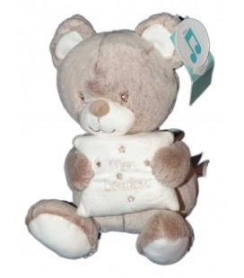 Peluche musicale Mon doudou Ours beige TEX Baby Carrefour