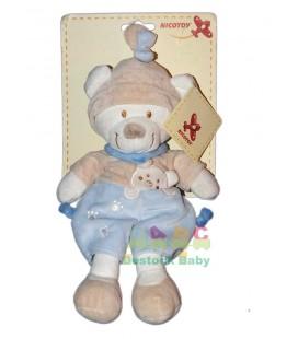 doudou-ours-bleu-beige-nicotoy-32-cm
