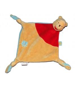 Disney Baby Doudou plat Winnie Fleur 3 noeuds 587/5088
