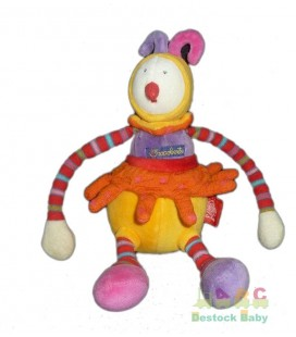 doudou-lutin-clown-rouge-orange-dragobert-moulin-roty-25-cm