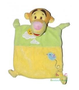 doudou-plat-tigrou-jaune-vert-oieau-soleil-nuage-disney-nicotoy