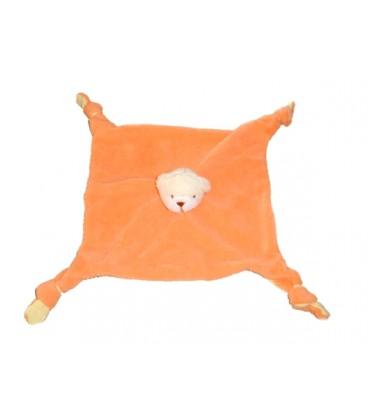babou-doudou-plat-ours-orange-fluo-jaune