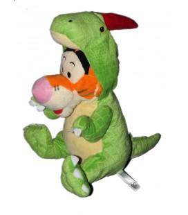 Peluche doudou Tigrou deguise en dragon vert Disney PTS SRL 32 cm