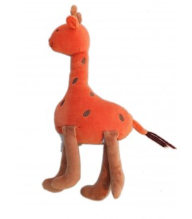 Doudous girafe orange Jacadi 30 cm