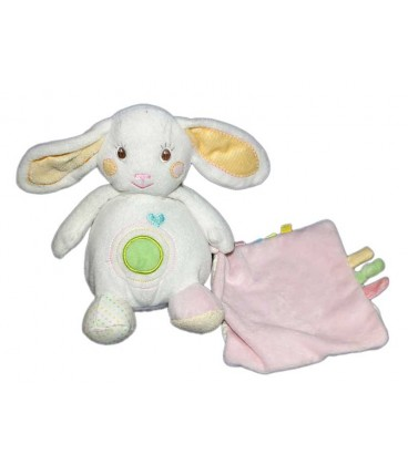 doudou-lapin-blanc-auchan-mouchoir-rose-22-cm