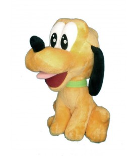 Doudou peluche PLUTO - Authentique Disneyland Paris Disney Store - H 23 cm