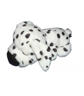 Peluche Big Headz CHIEN noir blanc Dalmatien - Artlist International L 26 cm