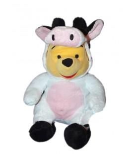 Peluche Winnie deguise en vache Disney PTS SRL 30 cm