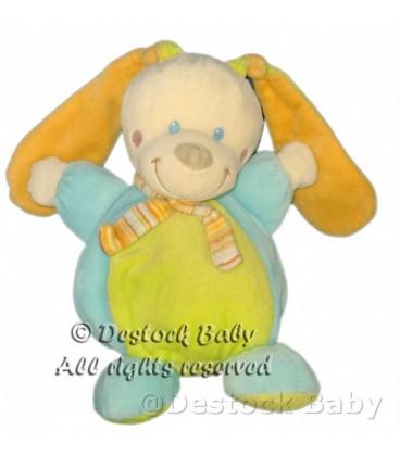 doudou-peluche-lapin-bleu-vert-mots-d-enfants-22-cm