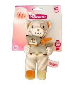 doudou-ours-rayures-chat-pommette-intermarche-20-cm