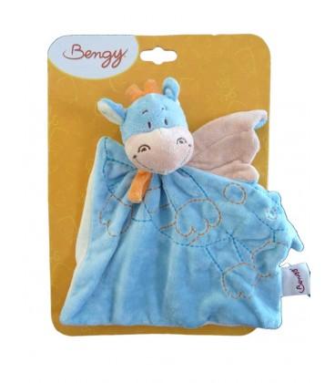 1dba55c810bf Doudou plat dragon bleu Bengy