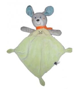 doudou-plat-lapin-vert-tex-baby-carrefour-t491905