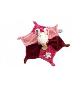 DOUDOU ET COMPaGNIE - Souris Framboisine Plat Etoile mauve rose violet 26 cm