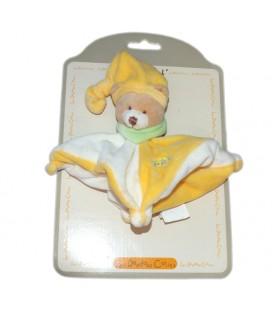 doudou-calin-plat-ours-jaune-blanc-baby-nat-pe451-16-cm