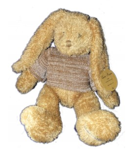 peluche-lapin-marron-calle-collection-louise-mansen-36-cm-qj345