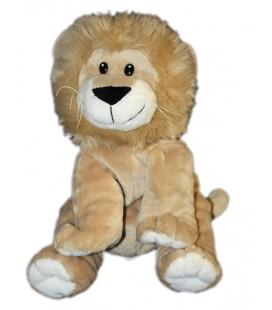 Peluche lion beige Maxita assis 26 cm