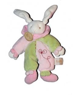 baby-nat-doudou-lapin-rose-vert-babynat