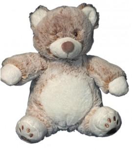 tex-carrefour-peluche-mon-doudou-ours-beige-marron-blanc-chine-22-cm