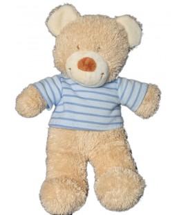 doudou-peluche-ours-beige-pull-bleu-tex-baby-carrefour-27-cm